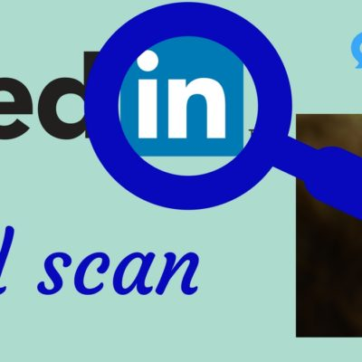 LinkedIn Profiel scan