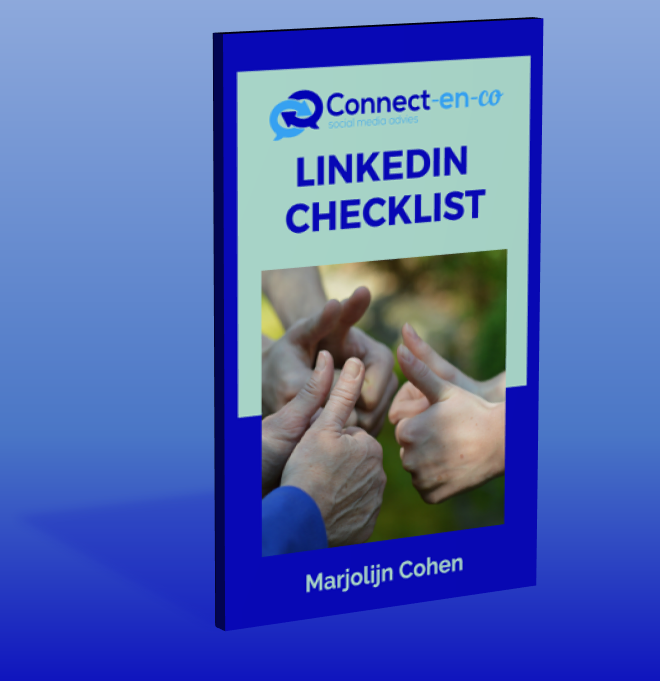 Gratis LinkedIn Checklist (beknopt)